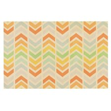 Infinity by Skye Zambrana Chevron Decorative Doormat