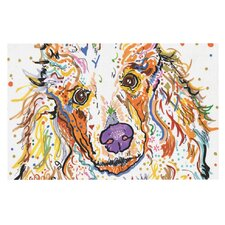 Lily by Rebecca Fischer Poodle Decorative Doormat