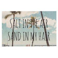 Salt in the Air by Nastasia Cook Beach Trees Decorative Doormat