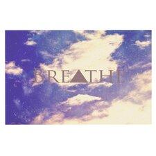 Breathe by Rachel Burbee Decorative Doormat
