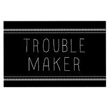 Trouble Maker by Skye Zambrana Decorative Doormat