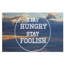 Stay Hungry by Skye Zambrana Decorative Doormat