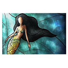 Mermaid by Mandie Manzano Decorative Doormat