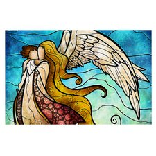 In the arms of the Angel by Mandie Manzano Decorative Doormat