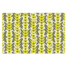 Whirling Leaves by Miranda Mol Decorative Doormat