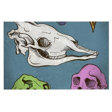 Skulls by Sophy Tuttle Decorative Doormat