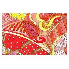 Swirls by Rosie Brown Decorative Doormat
