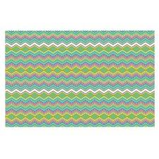Chevron Love by Nicole Ketchum Decorative Doormat