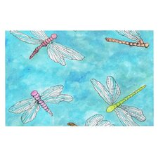 Dragonfly by Rosie Brown Decorative Doormat