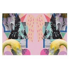 Flamingo Tropical by Vasare Nar Decorative Doormat