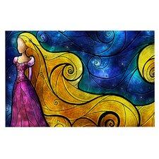 Starry Lights by Mandie Manzano Decorative Doormat