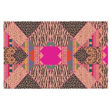 New Wave Zebra by Vasare Nar Pattern Decorative Doormat
