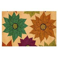 Color Me Floral by Pom Graphic Design Decorative Doormat