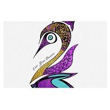 Dreams Swan by Pom Graphic Design Decorative Doormat