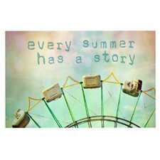 Every Summer Has a Story by Sylvia Cook Decorative Doormat