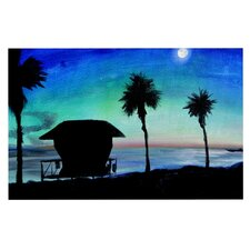 Carlsbad State Beach by Theresa Giolzetti Decorative Doormat