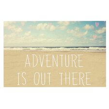 Adventure is Out There by Sylvia Cook Decorative Doormat