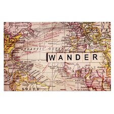 Wander by Sylvia Cook Decorative Doormat
