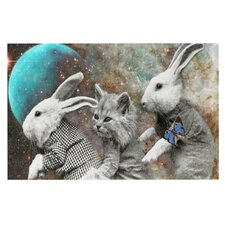 Space Travel by Suzanne Carter Decorative Doormat