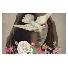 Doves Eyes by Suzanne Carter Decorative Doormat