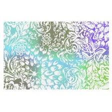 Bloom Blue Softly for You by Vikki Salmela Decorative Doormat