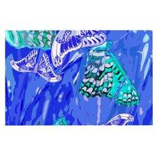 Butterflies Party by Vikki Salmela Decorative Doormat