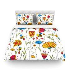 Bees by Alisa Drukman Light Cotton Duvet Cover