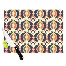 Bohemian iKat by Amanda Lane Cutting Board
