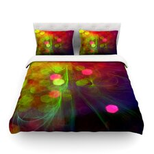 Dance by Alison Coxon Light Cotton Duvet Cover
