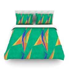 Deco Art by Alison Coxon Light Cotton Duvet Cover
