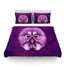 Hoot by Ancello Light Cotton Duvet Cover