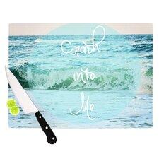 Crash Into Me by Beth Engel Cutting Board