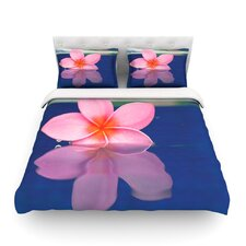 Plumeria by Bree Madden Light Cotton Duvet Cover