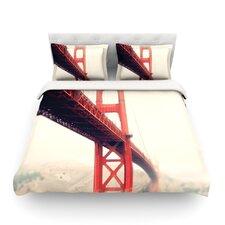 Golden Gate by Bree Madden Light Cotton Duvet Cover