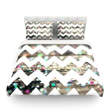 After Party Chevron by Beth Engel Light Cotton Duvet Cover