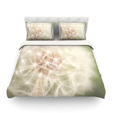 Dandelion Light by Catherine McDonald Cotton Duvet Cover