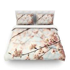 Japanese Blossom by Catherine McDonald Light Cotton Duvet Cover