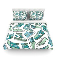 Sneaker Lover III by Brienne Jepkema Light Cotton Duvet Cover