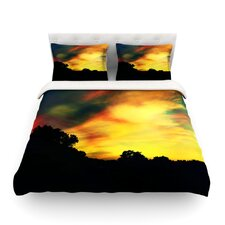 A Dreamscape Revisited Light by Caleb Troy Cotton Duvet Cover