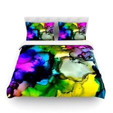 A Little Out There by Claire Day Light Cotton Duvet Cover