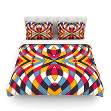 Stained Glass by Danny Ivan Light Cotton Duvet Cover