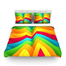 Olympia by Danny Ivan Light Cotton Duvet Cover