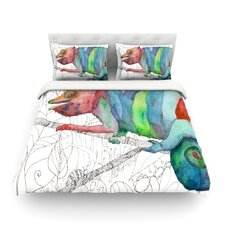 Chameleon Fail by Catherine Holcombe Light Cotton Duvet Cover