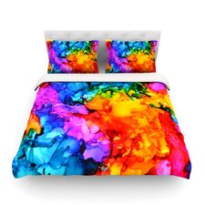 Sweet Sour II Light by Claire Day Cotton Duvet Cover