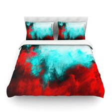Painted Clouds III by Caleb Troy Light Cotton Duvet Cover