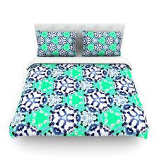 Calendoscope by Debora Chodik Light Cotton Duvet Cover