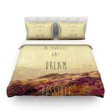 Believe by Ingrid Beddoes Light Cotton Duvet Cover