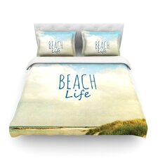 Beach Life Light by Iris Lehnhardt Cotton Duvet Cover