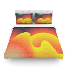 Waves Waves by Akwaflorell Light Cotton Duvet Cover