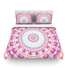 Happy by Iris Lehnhardt Circle Light Cotton Duvet Cover